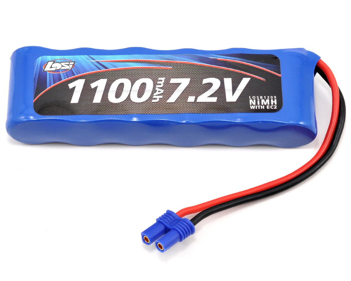 Losi Mini 8IGHT 6C NiMH Battery Pack w/EC2 Connector (7.2V/1100mAh) (Mini 8IGHT)