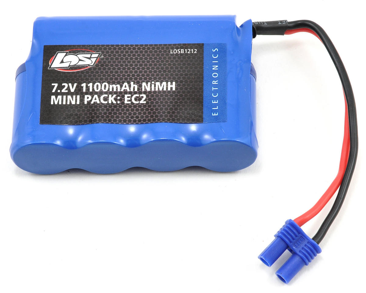 Losi NiMH SCT Battery Pack w/EC2 Connector (7.2V/1100mAh)