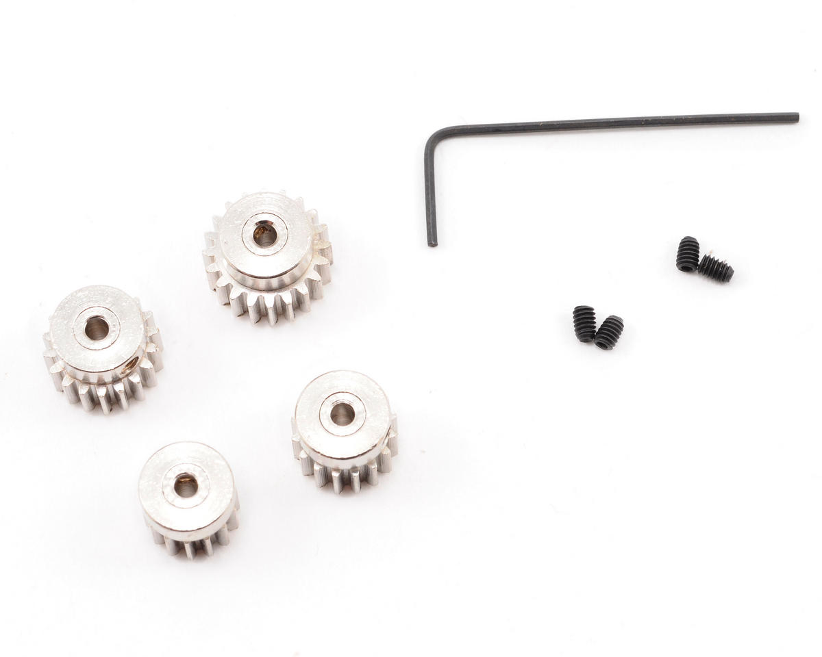 Losi Mini-Slider 14T,16T,18T,20T Pinion Gear Set (Mini)