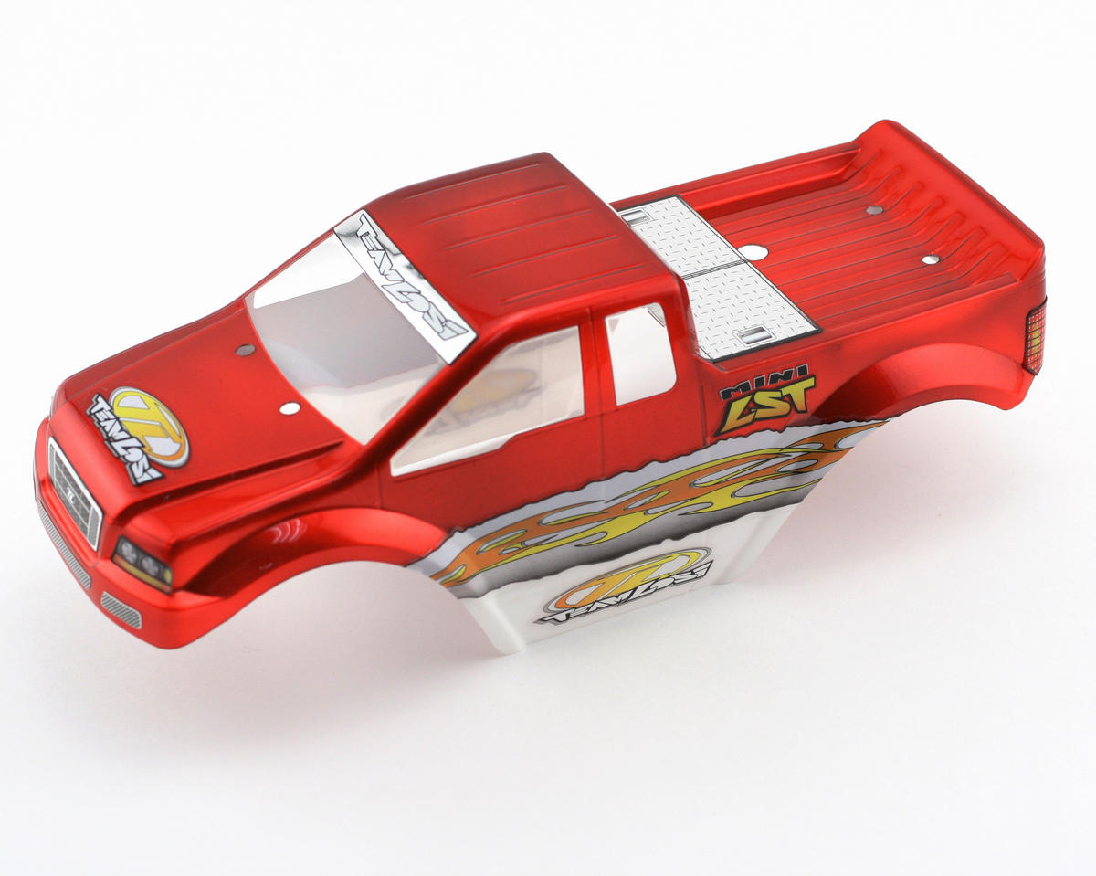 Losi Pre-Painted Body (Candy Red) (MLST/2)
