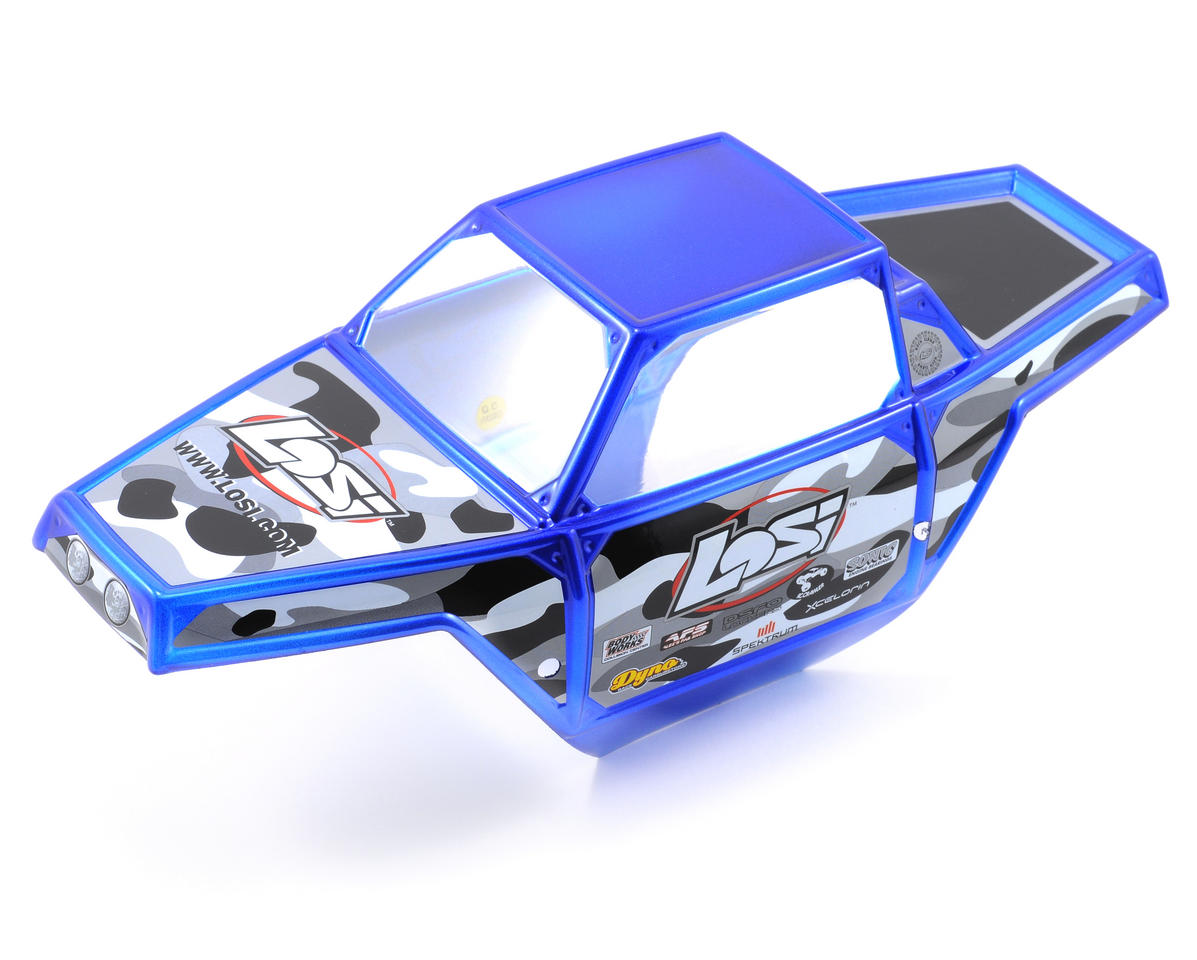 Losi Pre-Painted Mini Rock Crawler Body (Blue)
