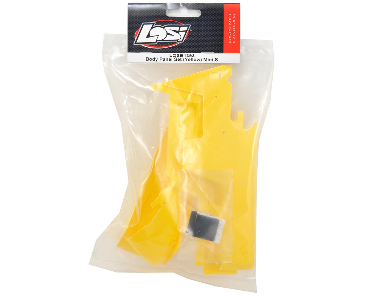 Losi Mini Sprint Body Panel Set (Yellow)