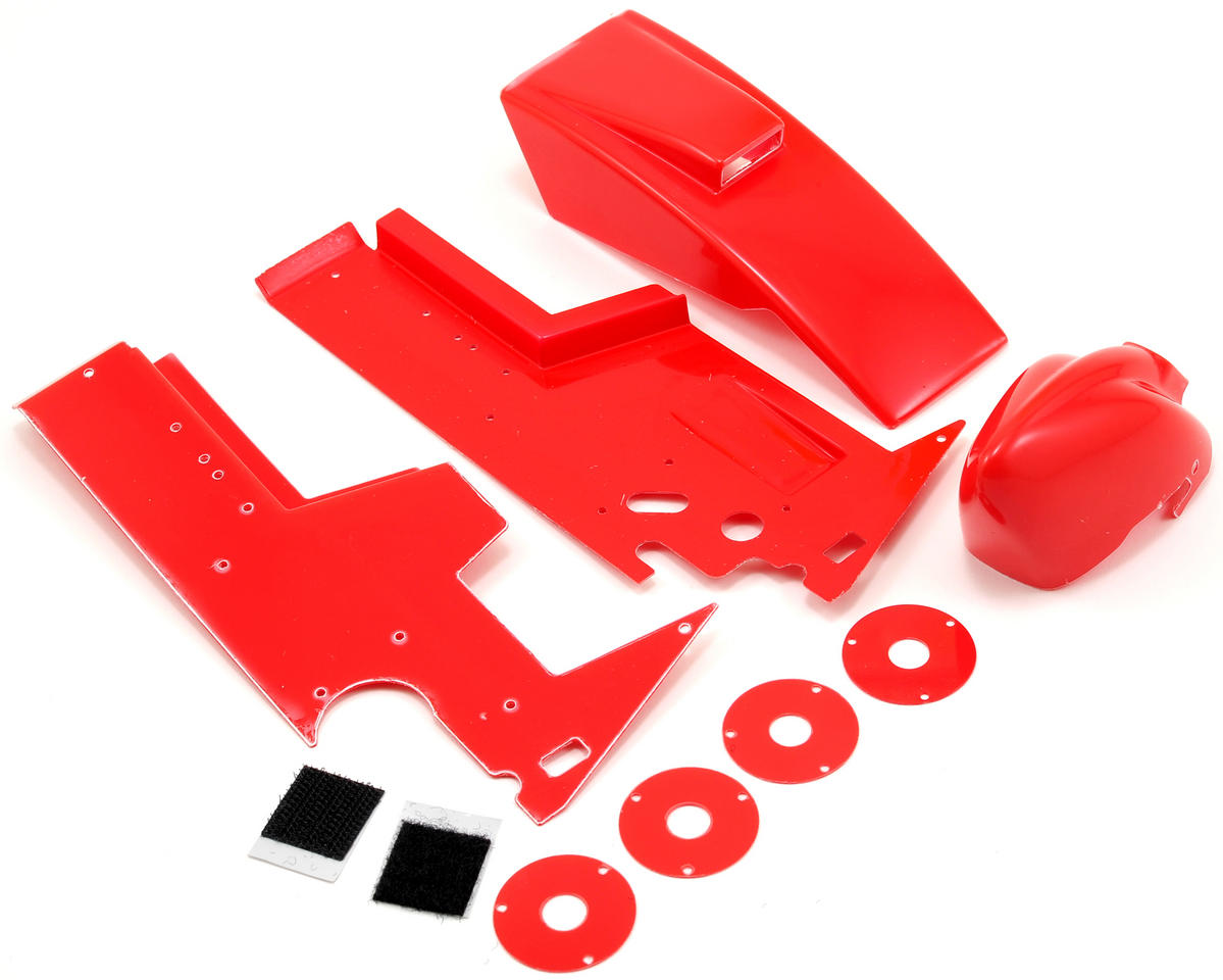 Losi Mini Sprint Body Panel Set (Red)