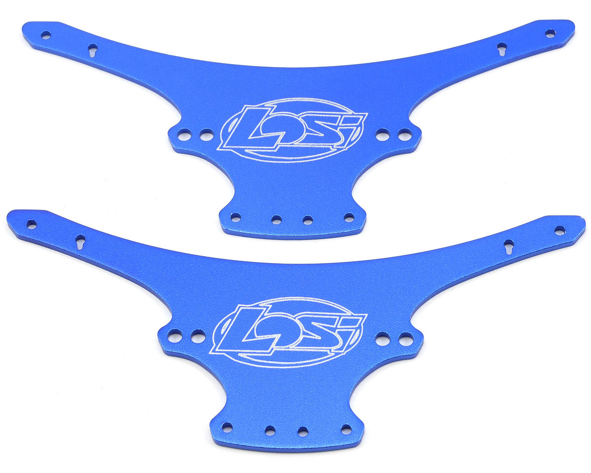 Losi Mini Rock Crawler Aluminum Chassis Plate Set (Blue)