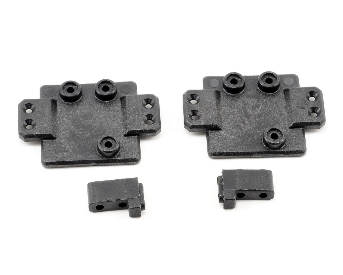Losi Mini Rock Crawler Servo Plate & Mount Set (2)
