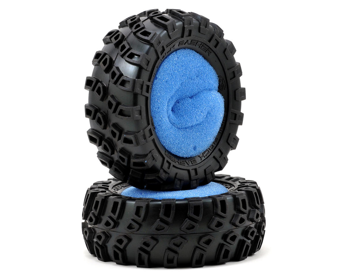 "Losi Mini Rock Bashers 1.9"" Rock Crawler Tires (2)"