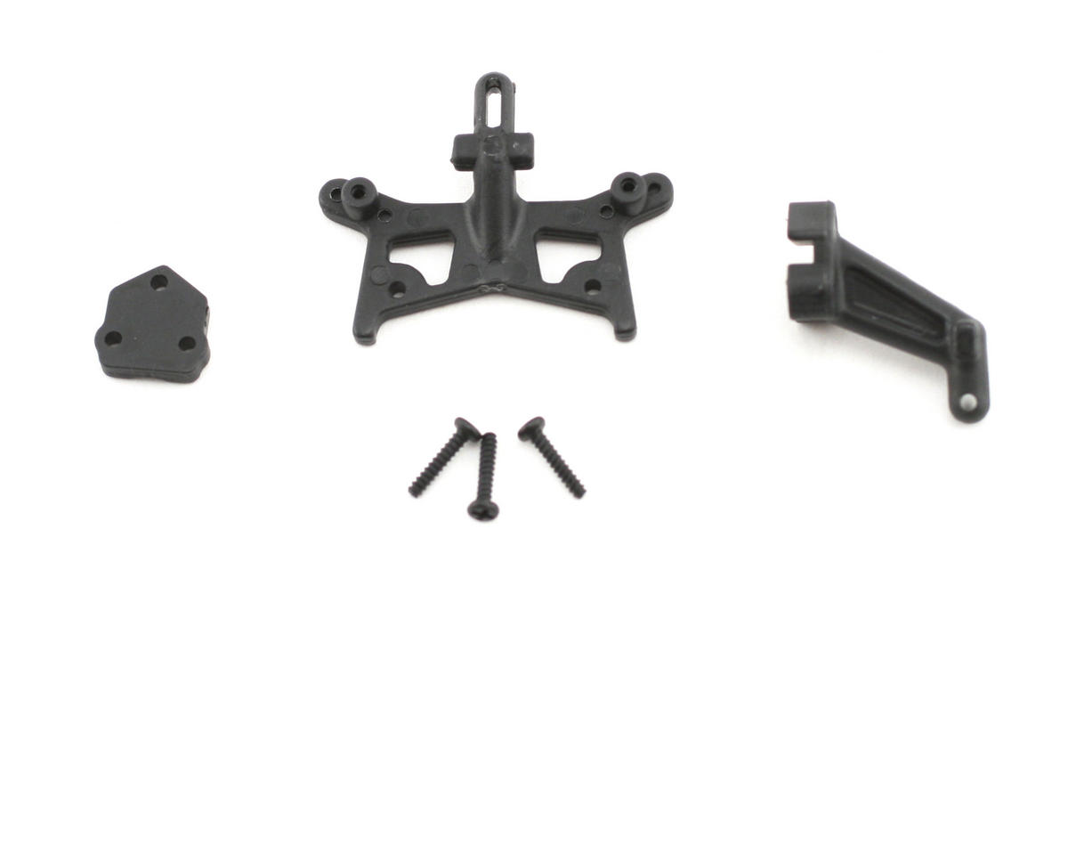 Losi Front Shock Tower & Rear Body Mount (Micro-B)