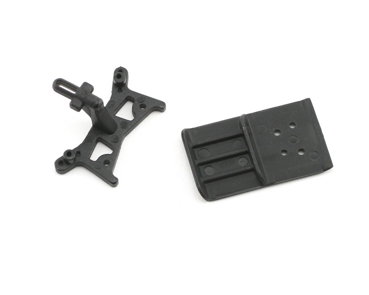 Losi Front Shock Tower/Skid Plate Bumper (Micro Desert Truck)