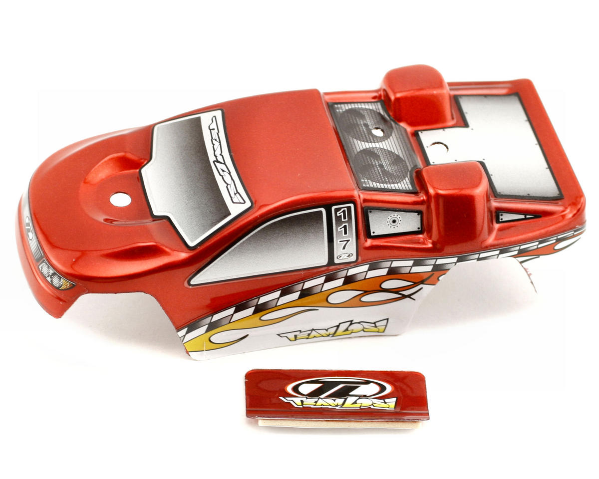 Losi Micro-T Body w/Stickers (Red)