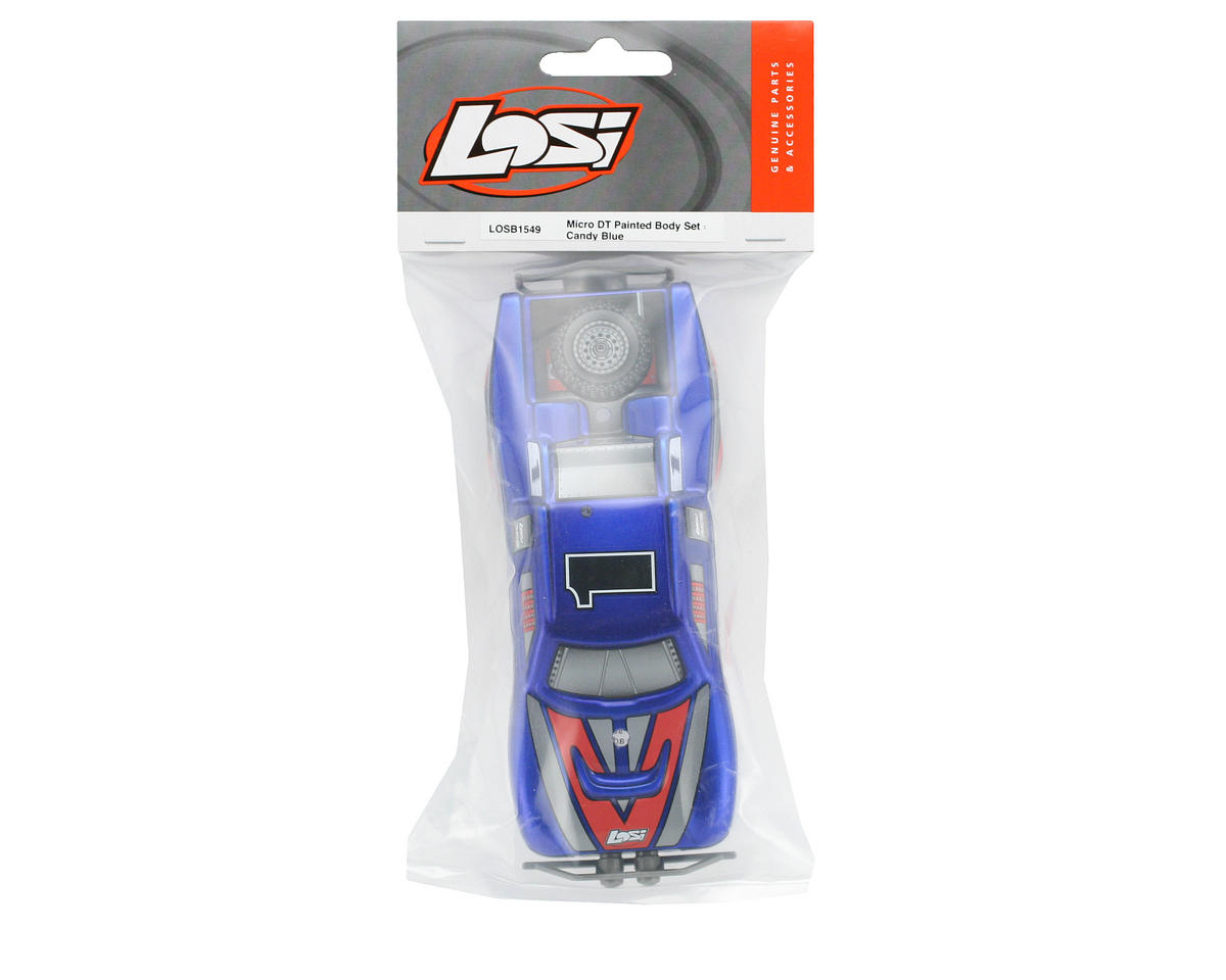 Losi Pre-Painted Body Set (Candy Blue)