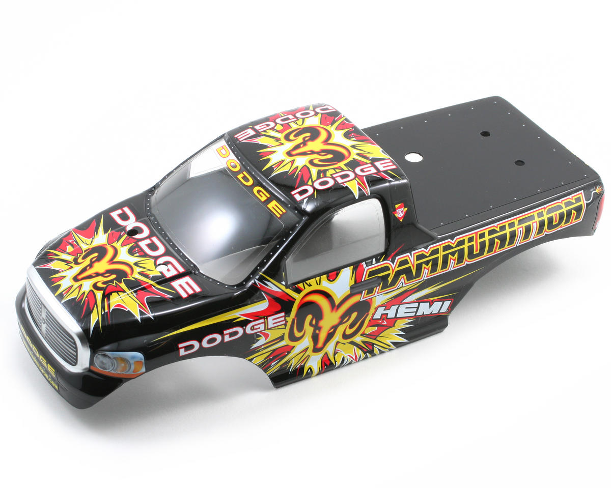 Losi Pre-Painted Dodge Rammunition Body w/Stickers