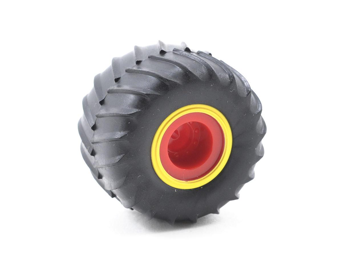 Losi Pre-Mounted Raminator Tires (4)