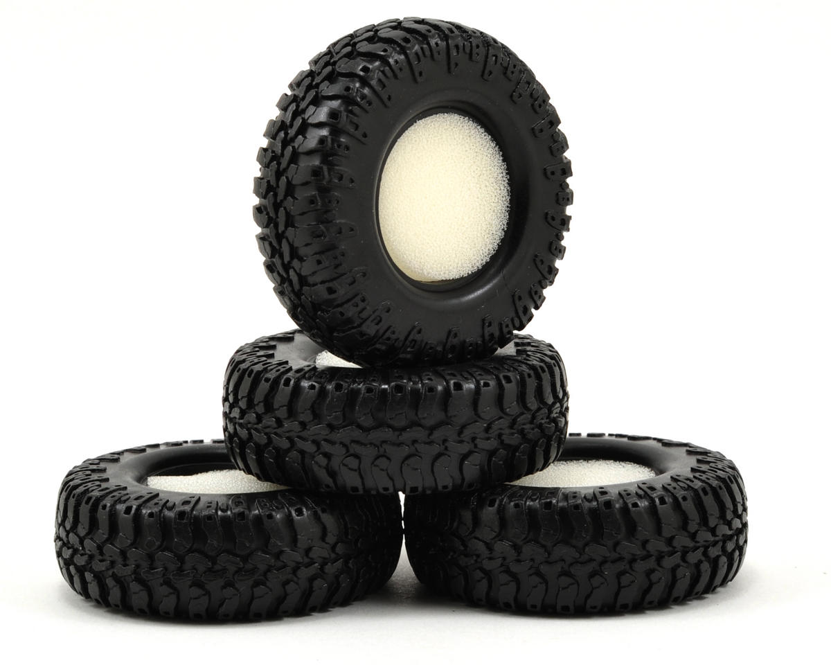 Losi Micro 4x4 Trail Trekker Scale AT Tires (4)