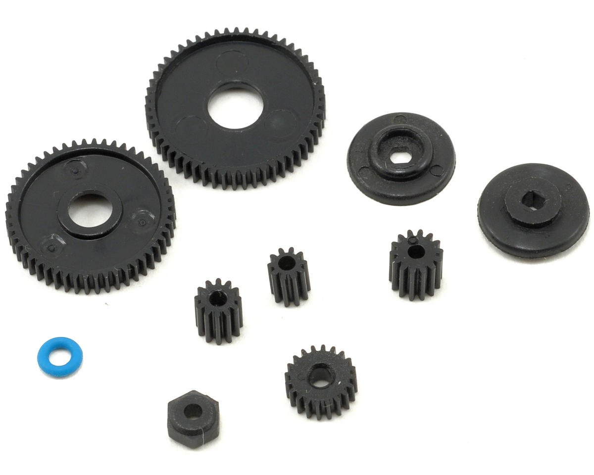 Losi Micro 4x4 Trail Trekker Center Transmission Gear Set w/Slipper & Pinions
