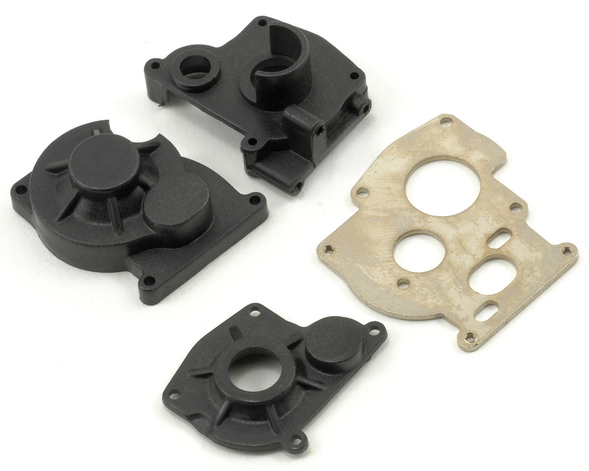 Losi Center Transmission Case & Motor Plate Set