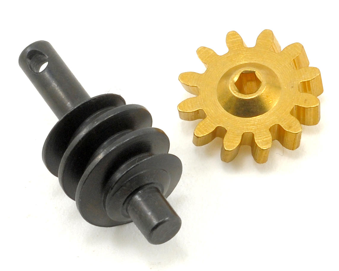 Losi Micro 4x4 Trail Trekker Worm Drive Wheel & Pinion Set