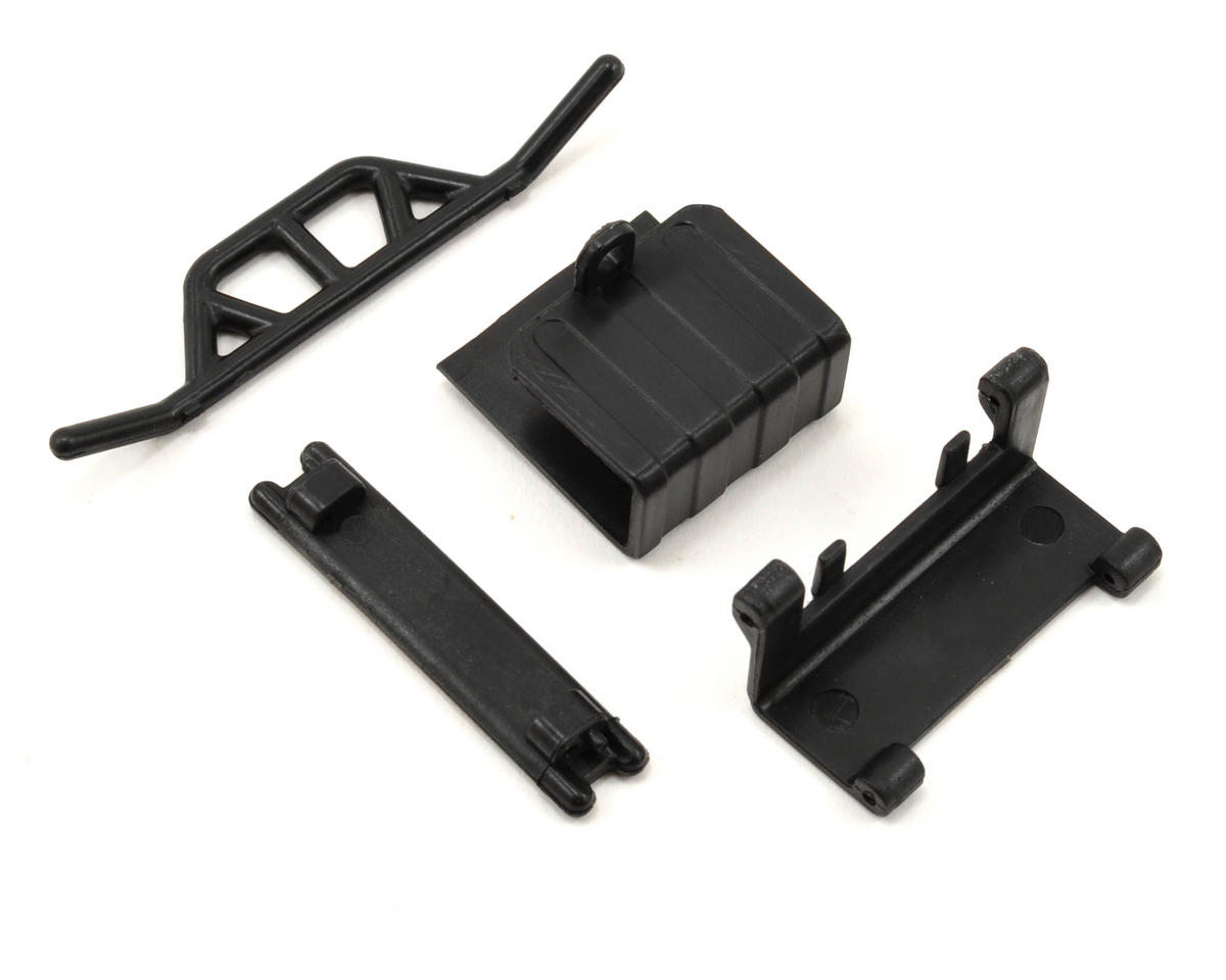 Front/Rear Bumper Set w/Battery Door & Tray by Losi