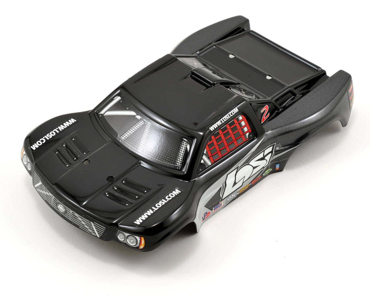 Losi Micro Short Course Truck SCT Body (Black/Grey)