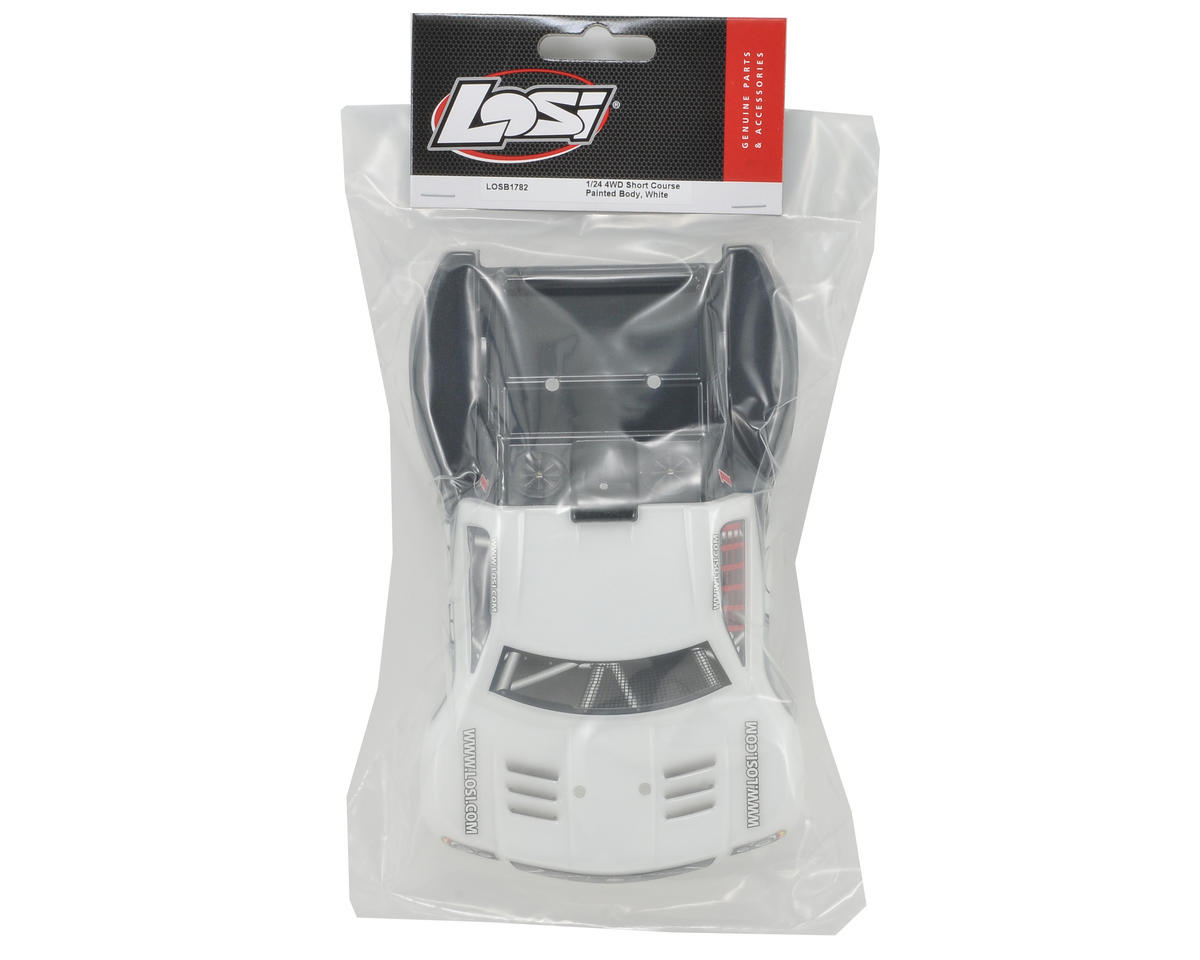 Losi Micro SCT Body (White/Grey/Black)