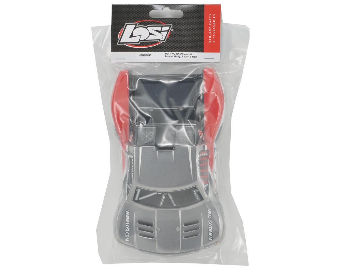 Losi Micro SCT Body (Grey/Black/Red)