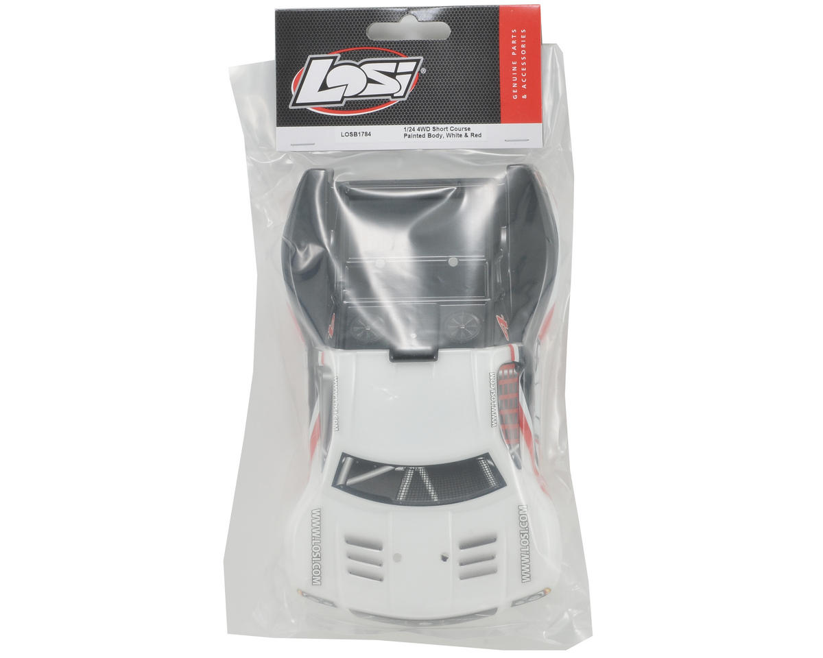 Losi Micro SCT Body (White/Red/Black)