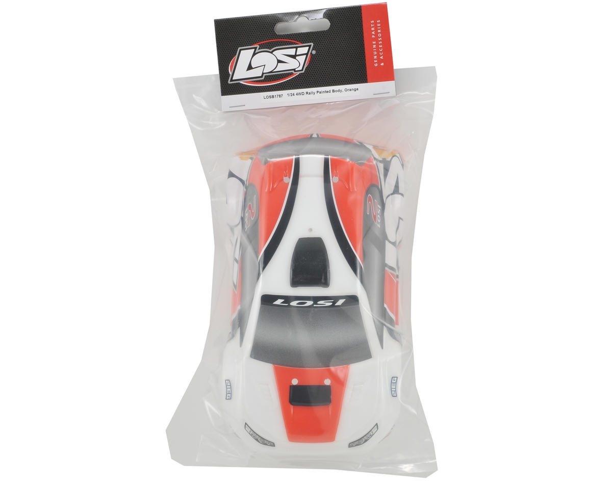 Losi Micro Rally Body (Orange/White)