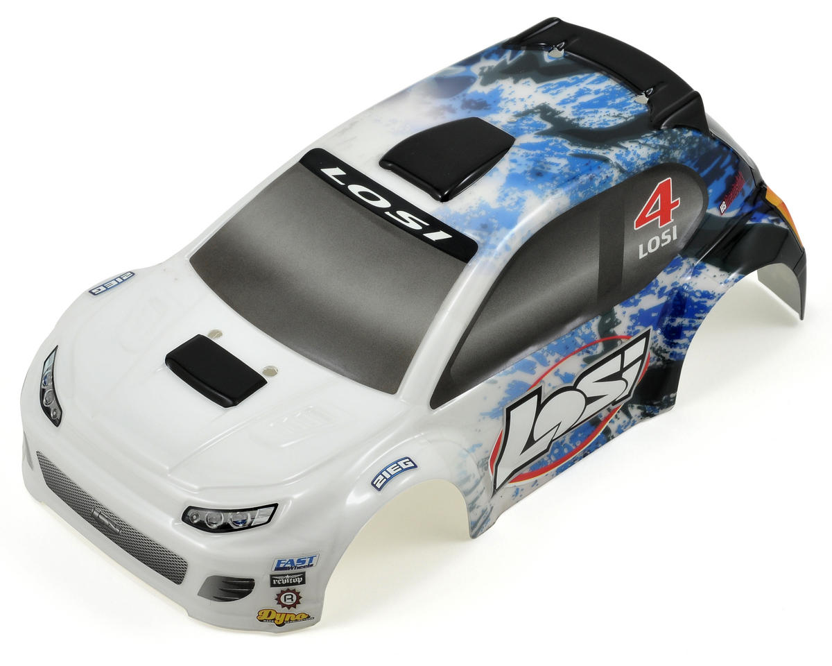Losi Micro Rally Body (Blue Splatter)