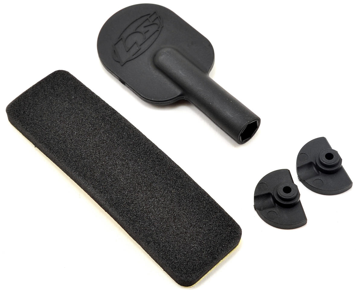 Losi Battery Door Lock Foam Pad & Tool Set
