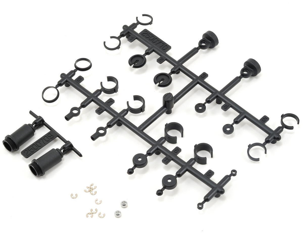 Losi Shock Plastic Parts & Pivot Ball Set