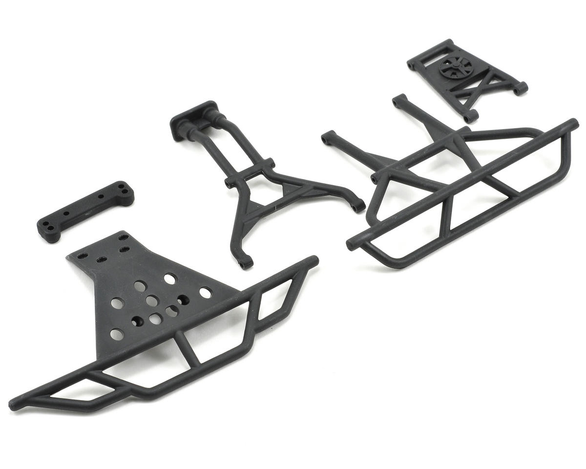Losi Front/Rear Bumper & Support Set