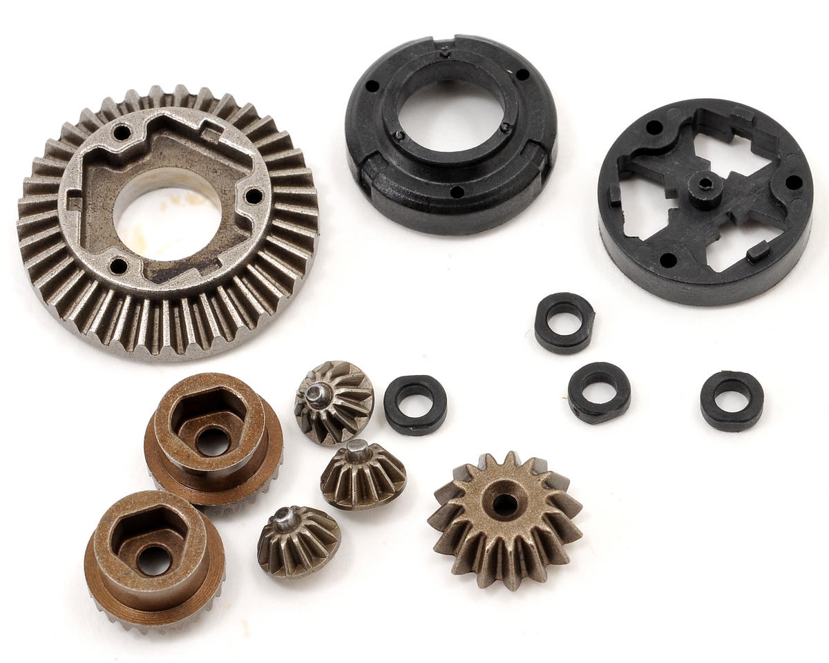 Losi Mini 8IGHT-T Front/Rear Differential Gear Set w/Housing & Spacers