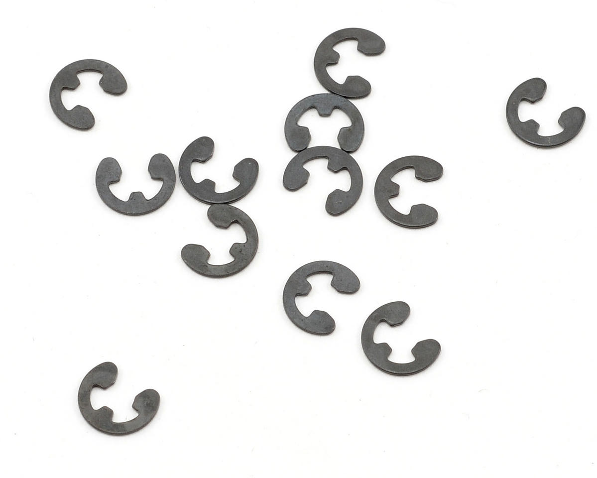 Losi HIGHroller 3mm E-Clips (12)