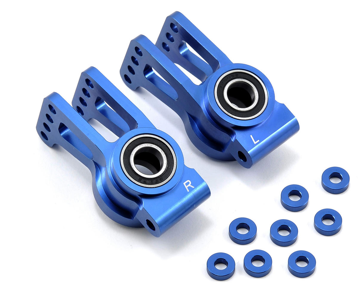 Losi Aluminum Rear Hub Set (Blue) (2)