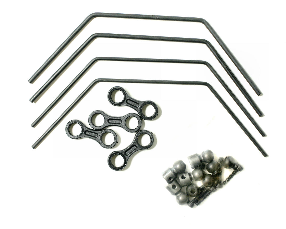 Losi Front/Rear Sway Bar Kit (LST, LST2).