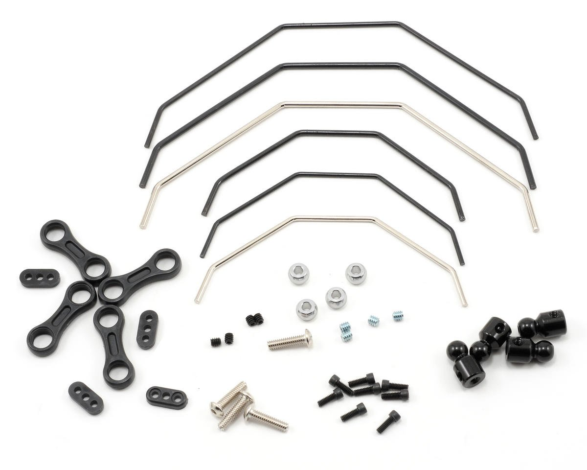 Losi 810 Front & Rear Sway Bar Kit (Ten-T)