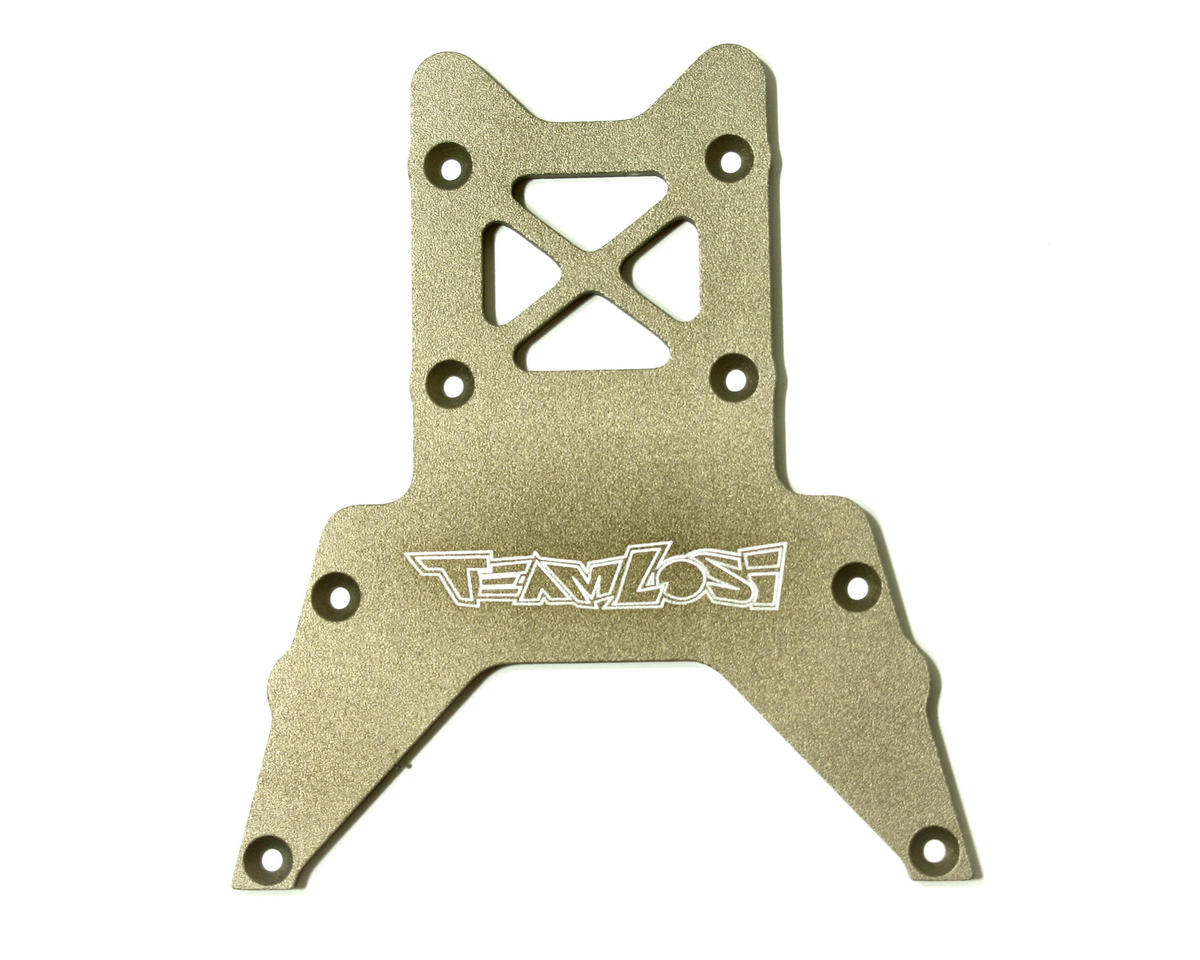 Losi High Performance Hard Anodized Bottom Plate (LST, LST2).