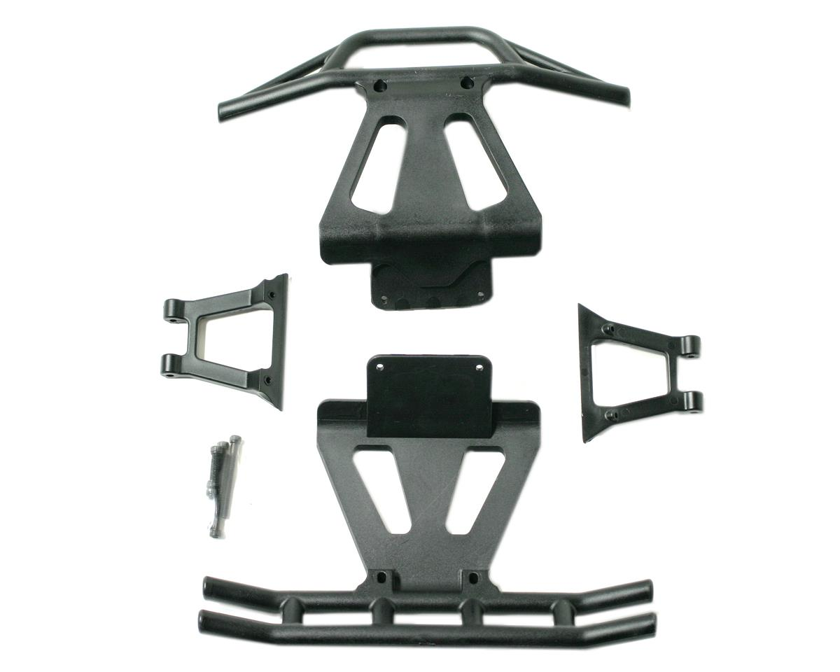Losi  Front/Rear Bumpers & Braces (LST, LST2).