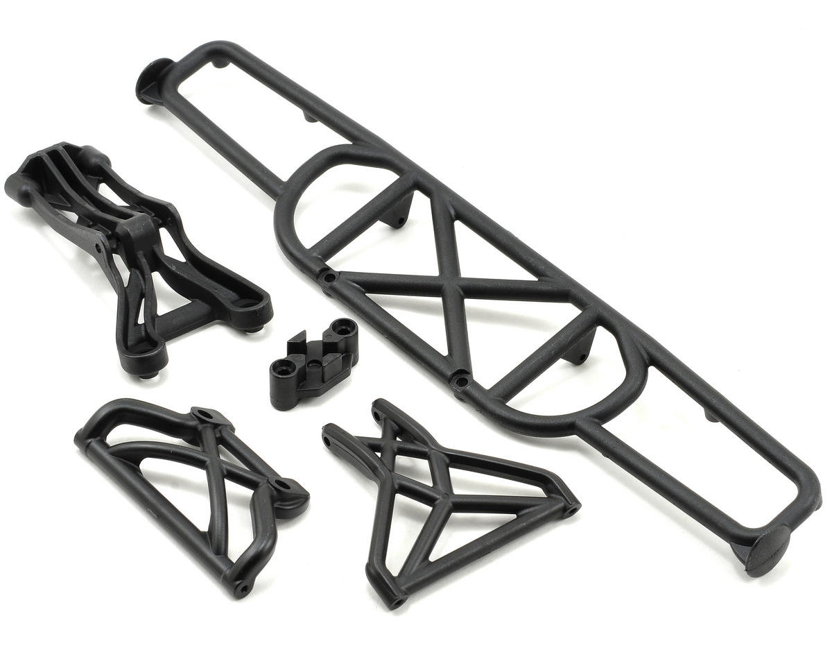 Losi XXX-SCB Rear Bumper Set