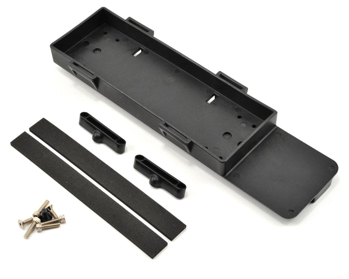 Losi TEN Rally X Battery Tray w/Stop Tab & Foam Pad