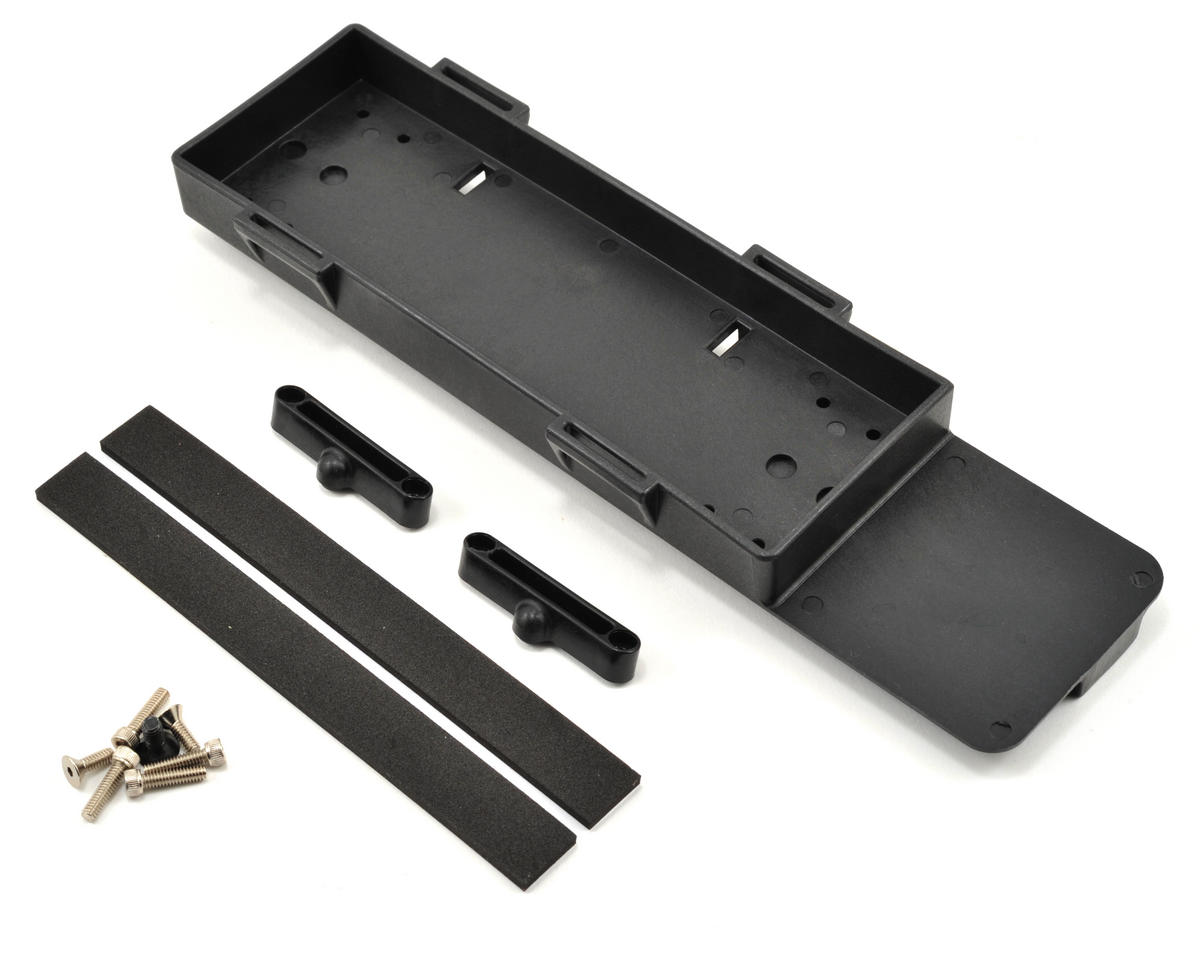 Losi Battery Tray w/Stop Tab & Foam Pad