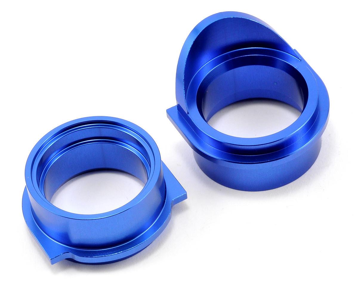 Losi Aluminum Rear Differential Bearing Insert Set (Blue) (2)
