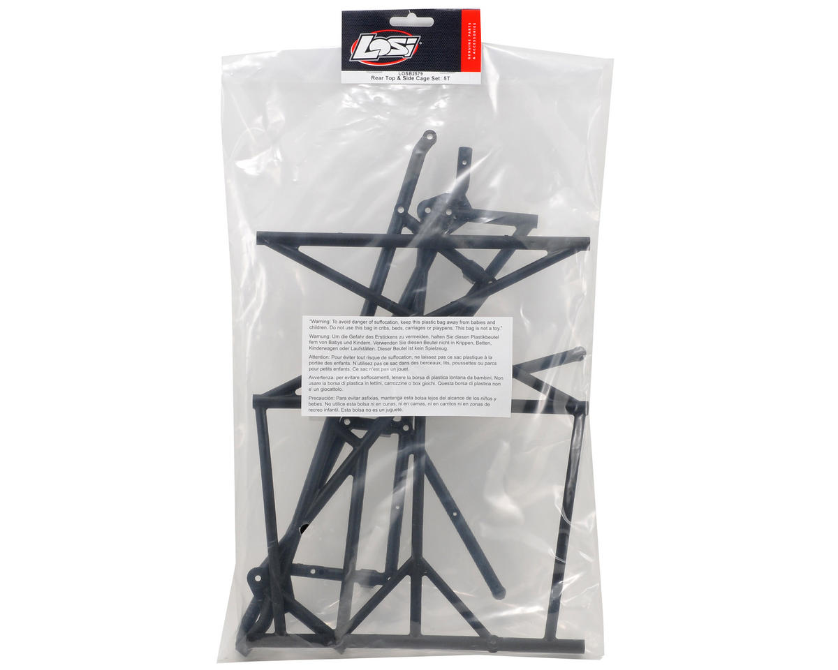 Losi Rear Top & Side Roll Cage Set