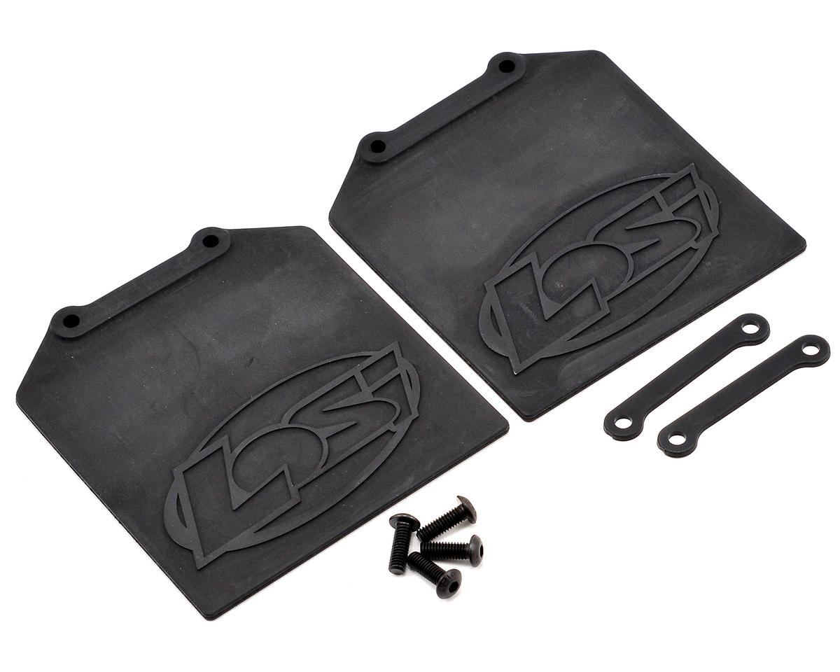 Losi Mud Flap & Retainer Set (2)