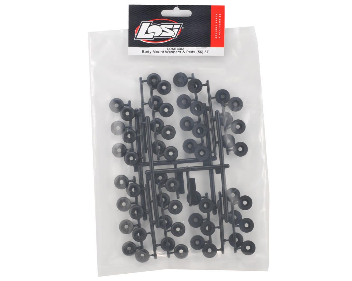 Body Mount Washer & Pad Set (56) by Losi