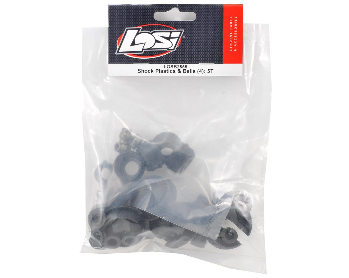 Losi Plastic Shock Part Set w/Pivot Ball