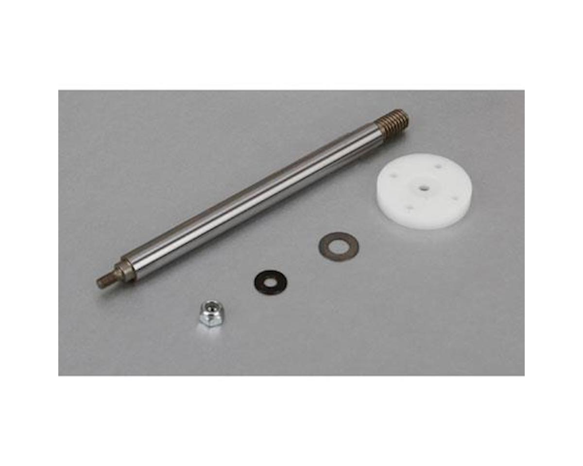Losi Nutted Shock Shaft & Piston Kit, Rear: 5T