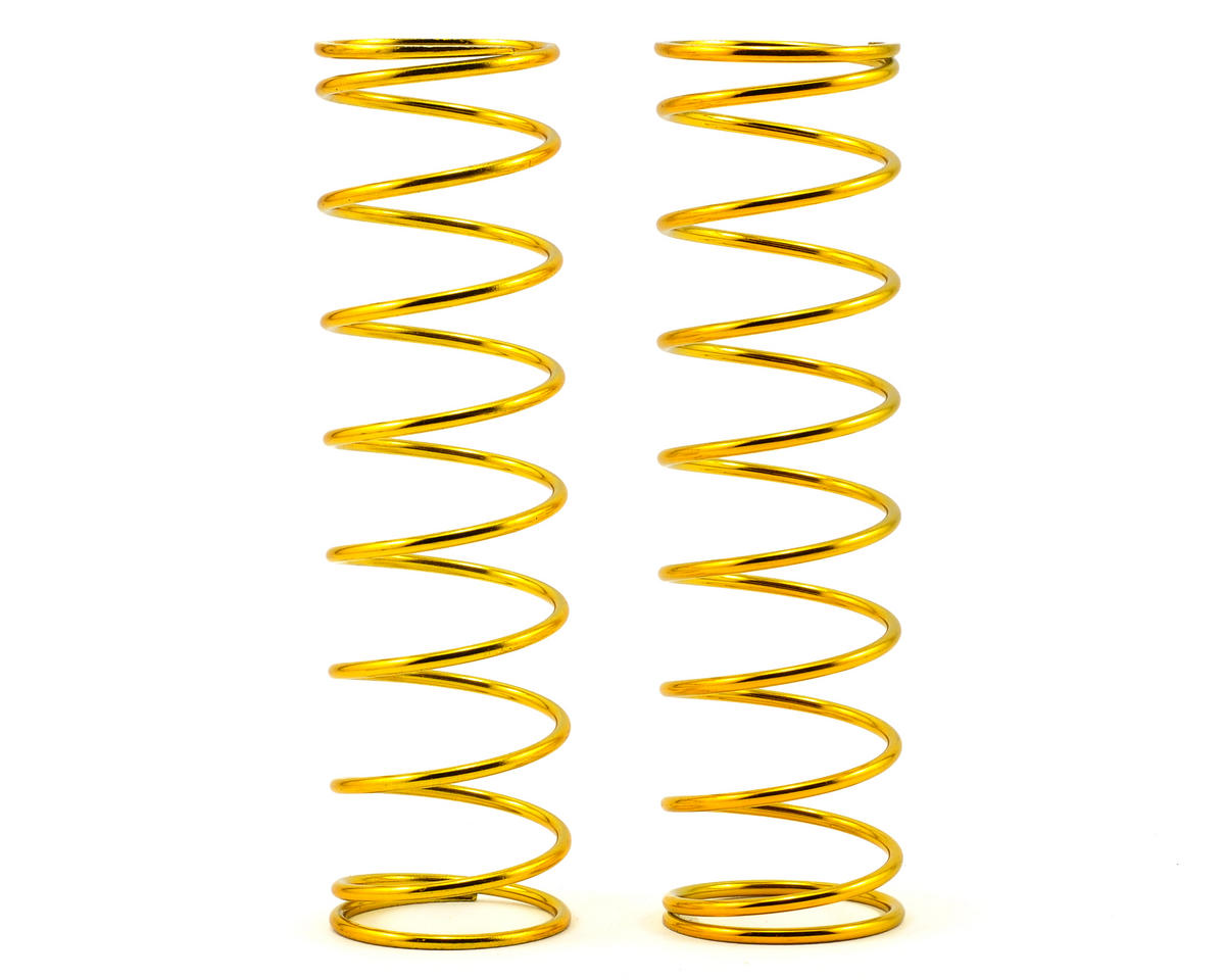 Rear Shock Spring Set (Gold - 6.8lb) (2) by Losi