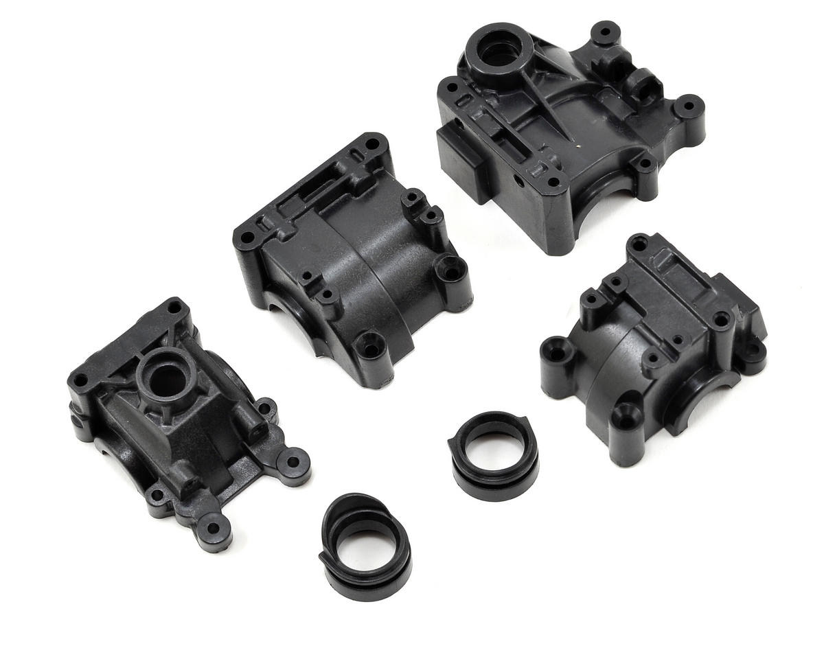 Losi TEN-SCT Nitro Front & Rear Gearbox Set (Ten-T)