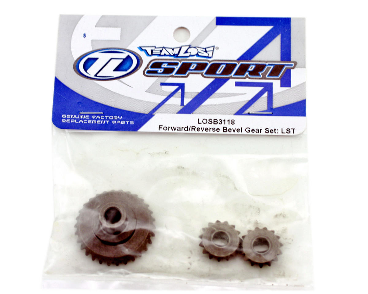 Front/Rear Bevel Gear Set (LST, LST2). by Losi
