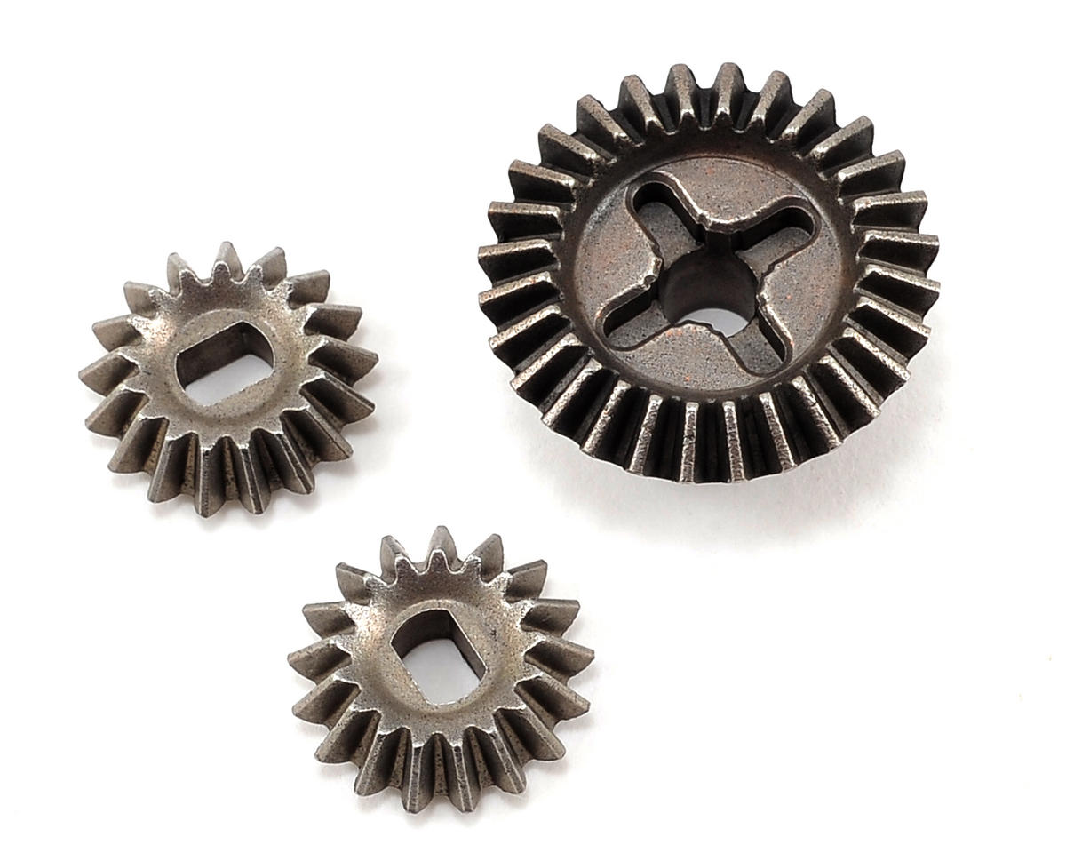 Front/Rear Bevel Gear Set (28/17) (LST/LST2/AFT/MGB) by Losi